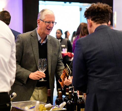 3/23/2019 Mike Orazzi | Staff Bristol Hospital Chairman of the Board Douglas Devnew during the Bristol Hospital Development Foundation's annual Festival of Wine and Spirits held at the DoubleTree by Hilton Hotel in Bristol Saturday night.