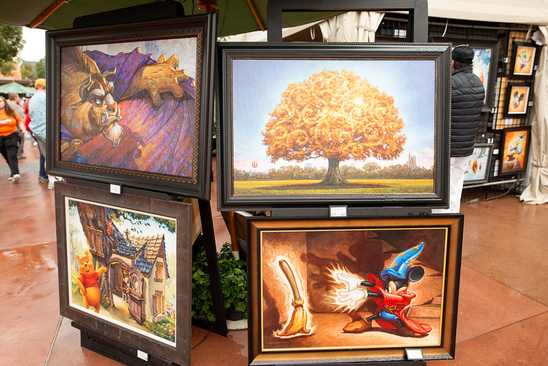 Art on display - Epcot Walt Disney World