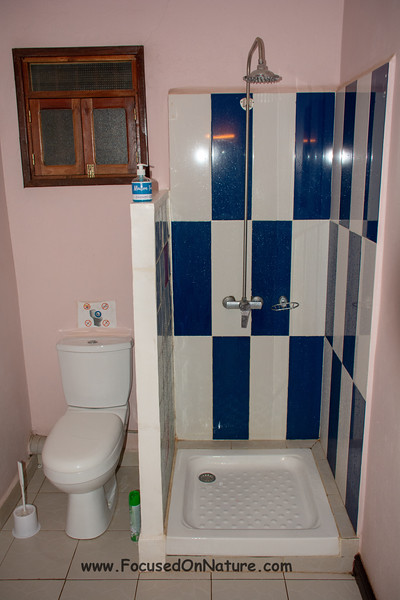 World's smallest shower