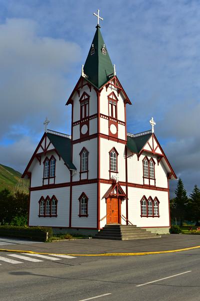Húsavíkurkirkja in North Iceland