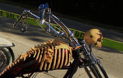 Cool Custom Bikes and Bike Week STUFF