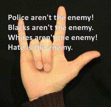 hate is enemy