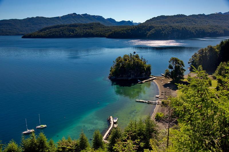 Lago Nahuel Huapi, Villa La Angostura, Neuquén, Argentina