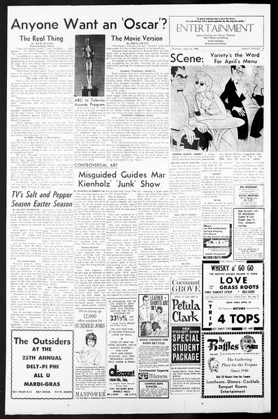 Daily Trojan, Vol. 57, No. 101, April 14, 1966