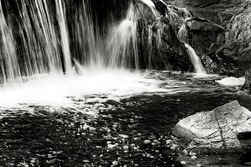 waterfall at Hyde Park