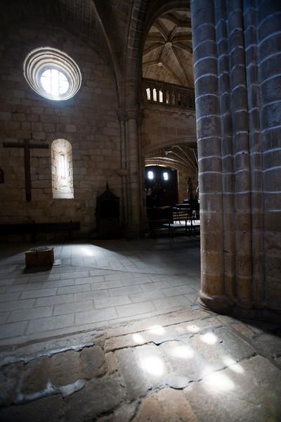 Interior view of San Pedro church, Garrovillas, Caceres, Spain