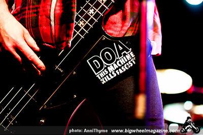 Gnarmageddon Fest 2011 - D.O.A. - at The Glass House - Pomona, CA - June 18, 2011