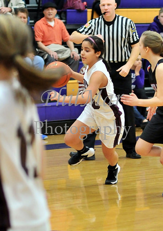 Resurrection vs Sacred Heart Girls CYO Basketball