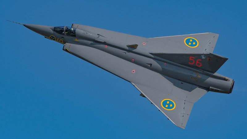 Swedish Air Force Historic Flight / Saab Sk35J Draken / SE-DXR 56