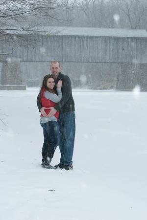 Jackie and Brandon's winter shoot