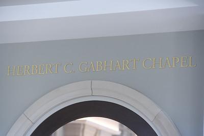 Gabhart Chapel Dedication