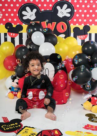 Brandon Johnson 2nd Birthday Shoot