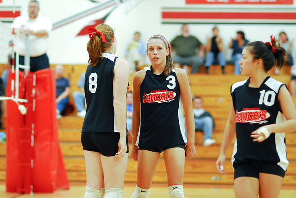Frederick High Varsity Volleyball at Linganore Lancers