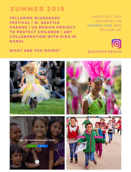 2019 What's Up This Summer at Qamera Design Shop