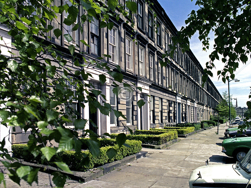 Western end of St Vincent Terrace.  