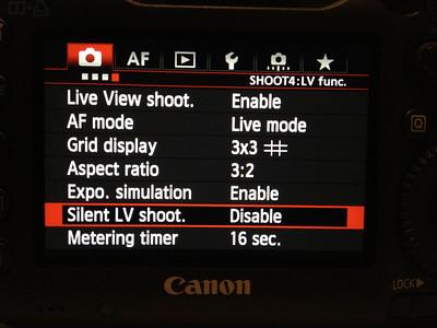 5d3 menu