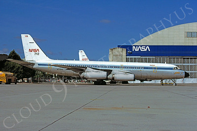 NASA Convair 880 Airplane Pictures