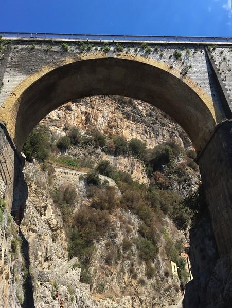 The bridge at Furore