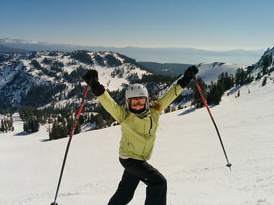 2014 Tahoe skiing