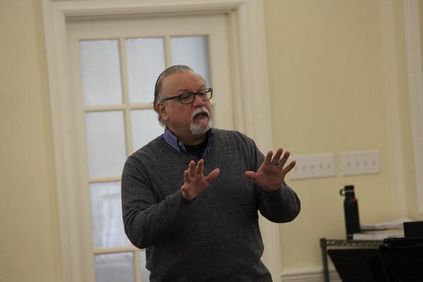 Frank Mastrone Broadway Master visits MS/US