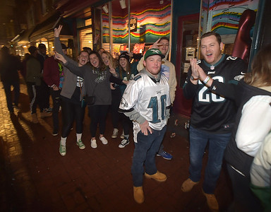 Eagles celebration in West Chester