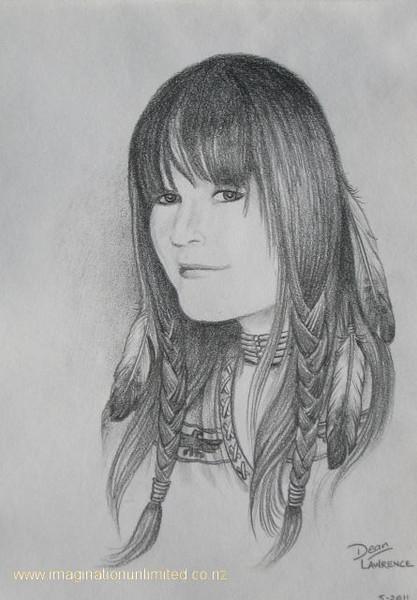 Portrait of girl as Indian.JPG