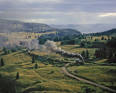 Rio Grande Narrow Gauge in the 60's