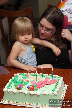 Mai's Third Birthday Party