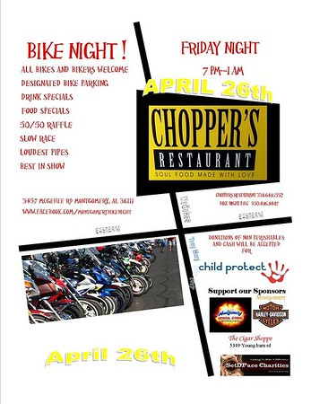 Bike Night for Child Protect