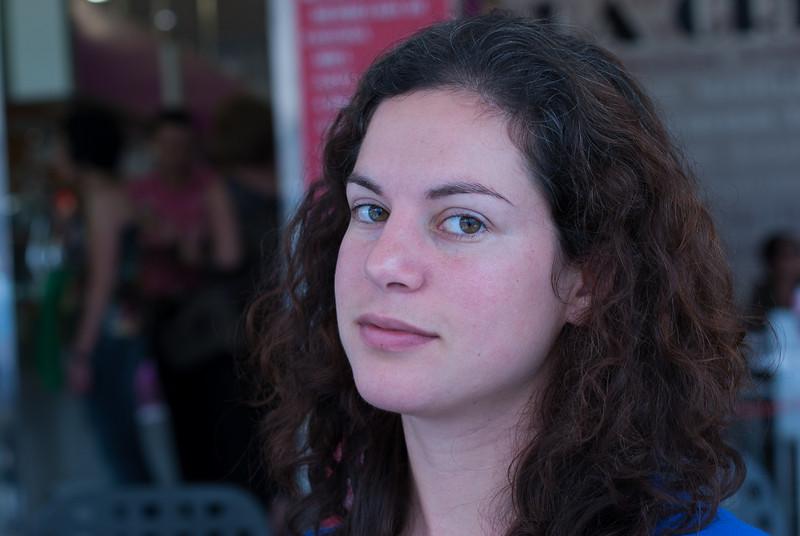 Profile of a woman in Benidorm, Spain