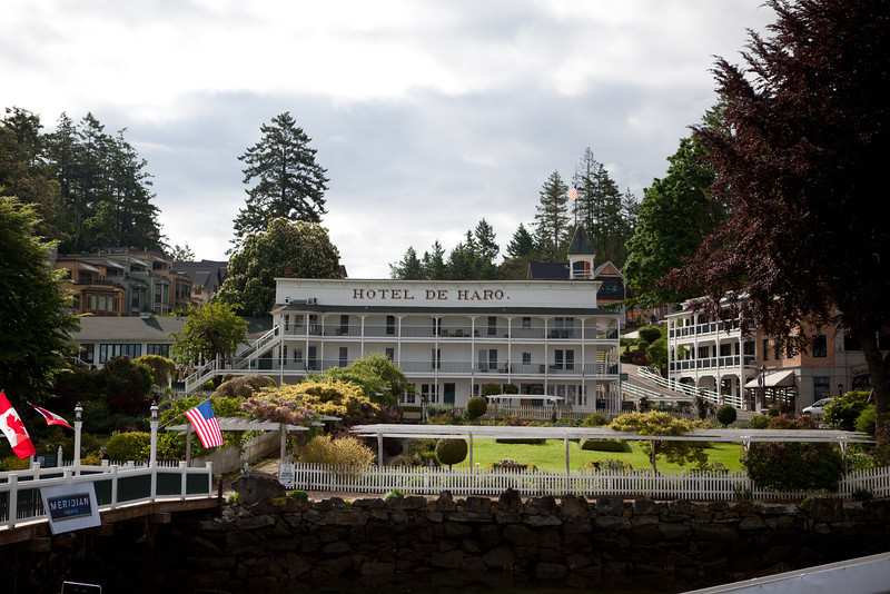 The flagship hotel of the Roche Harbor Resort (we didn't stay here).