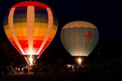 Balloon Festival - Seymour, WI  8-10-13