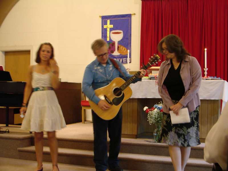Park Street Christian Church Graduates 2009 May 005.jpg