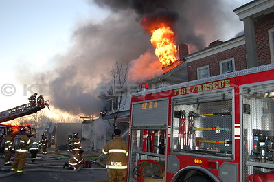 Reading, MA - 3rd Alarm - 18 Woburn St - 1/17/06