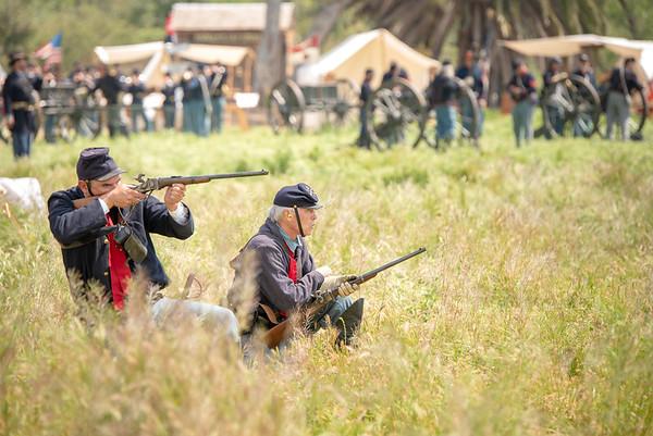 Civil War Reenactment Corona, CA 4/6/19