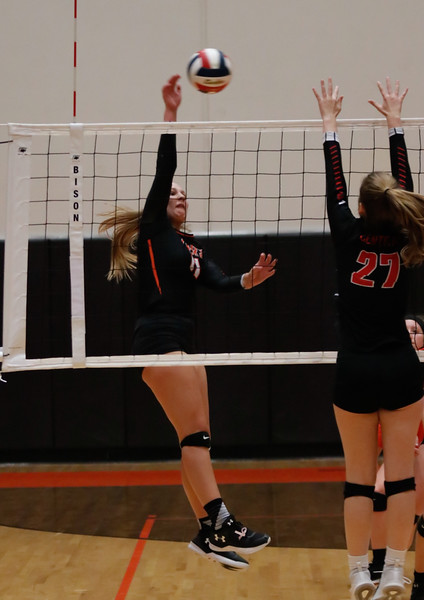 20191014 Varsity Volleyball vs Central