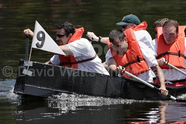 Glen Ellyn's 2007 Cardboard Boat Regatta