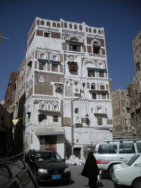 back in old Sana'a