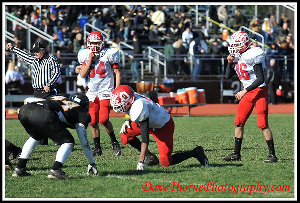 Football - Thanksgiving Day Ocean vs Monmouth Regional  Nov 2011