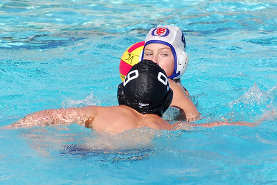Ventura League Championship Tourney - Santa Barbara Water Polo Club 12U Boys vs Titans Coed 11/16/08. Final score 9 to 6. SBWPC. Photos by Allen Lorentzen.