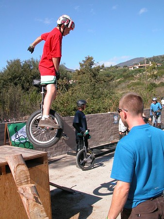 10th Annual California Mountain Unicycle Weekend October 14-16, 2005