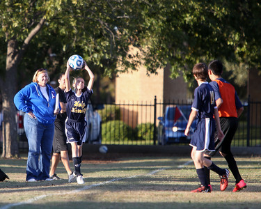Nov 5 - Soccer Gold vs All Saints