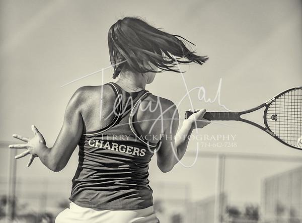 Edison vs. Cypress Girls Tennis