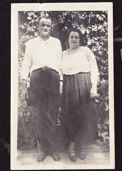 Circa: 1919, Charles and Thelma Rausch (Dodie's adoptive parents)