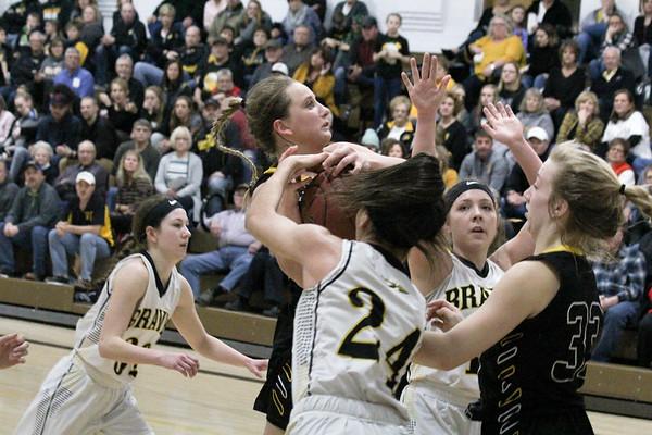 BH girls' basketball 2-15-19: Class 2A Region 1 girls' basketball tournaments