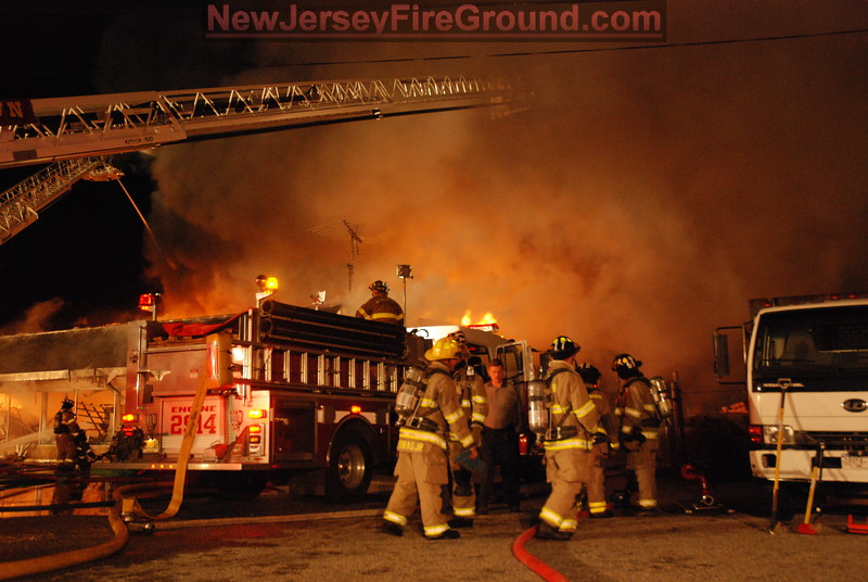 4-23-2009 (Gloucester County WILLIAMSTOWN - 1740 Rt 322 - 3rd Alarm Building Fire
