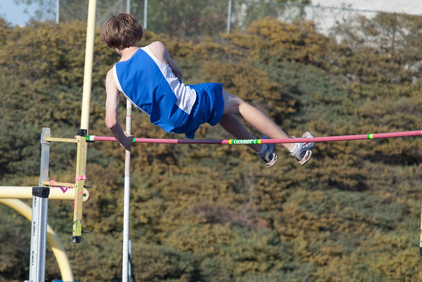 Josh Pole Vaulting - 3/5/2010 - RBHS vs Torrey Pines