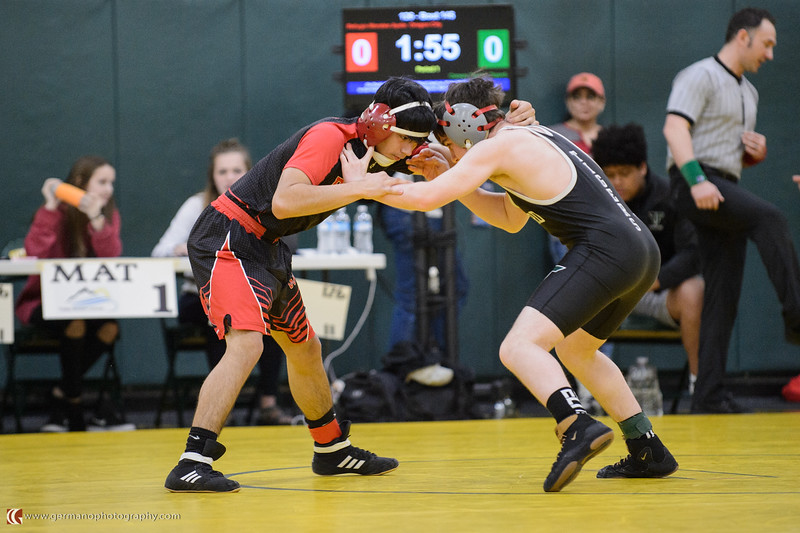 126 Oregon City vs Tigard Bout 145 Morales v Taylor
