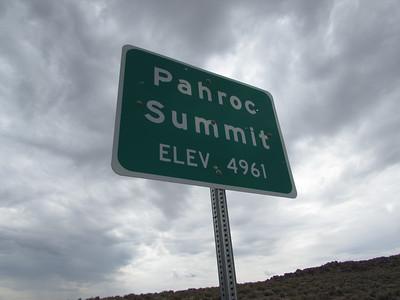 NV- Pahroc Summit Pass
