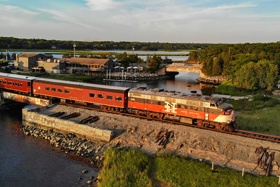 Mass Coastal Cape Cod Scenic and Dinner Trains ,and MBTA Cape Flyer